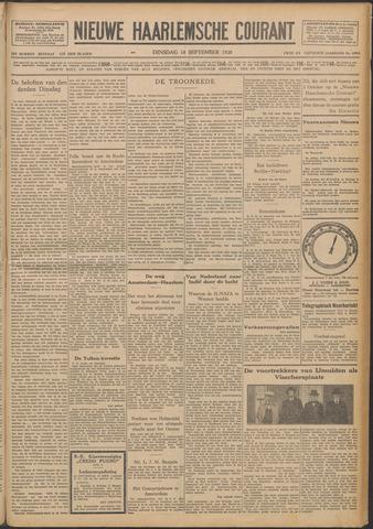 Nieuwe Haarlemsche Courant 1928-09-18