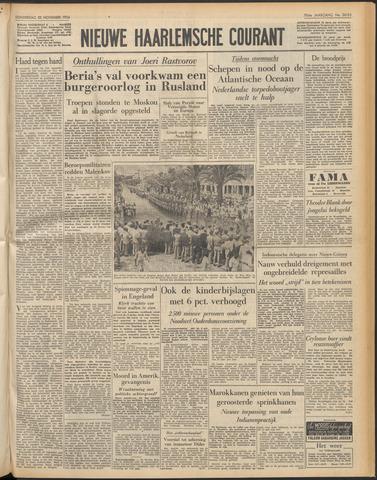 Nieuwe Haarlemsche Courant 1954-11-25