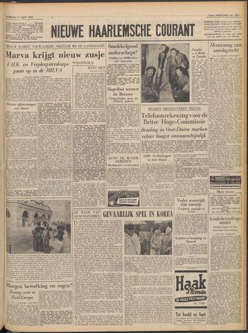 Nieuwe Haarlemsche Courant 1952-06-07