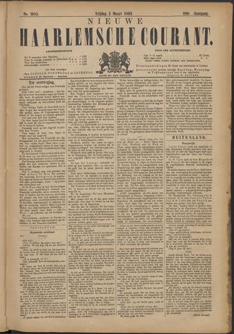 Nieuwe Haarlemsche Courant 1893-03-03
