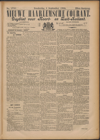 Nieuwe Haarlemsche Courant 1904-09-01