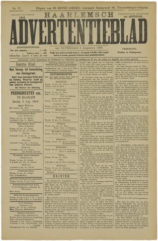 Haarlemsch Advertentieblad 1900-08-04