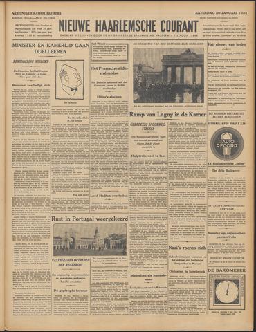 Nieuwe Haarlemsche Courant 1934-01-20