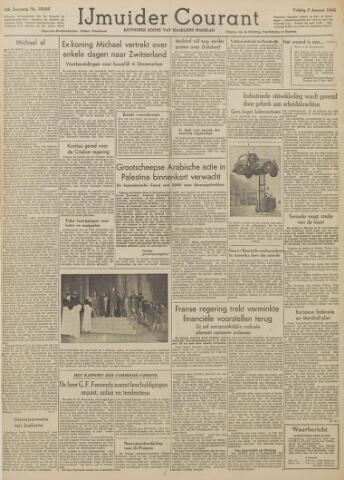 IJmuider Courant 1948-01-02