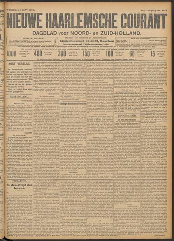 Nieuwe Haarlemsche Courant 1909-09-01