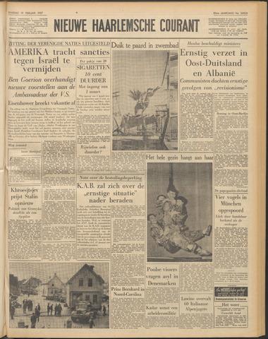Nieuwe Haarlemsche Courant 1957-02-19