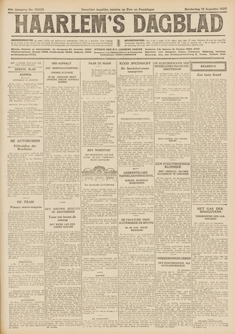 Haarlem's Dagblad 1926-08-12