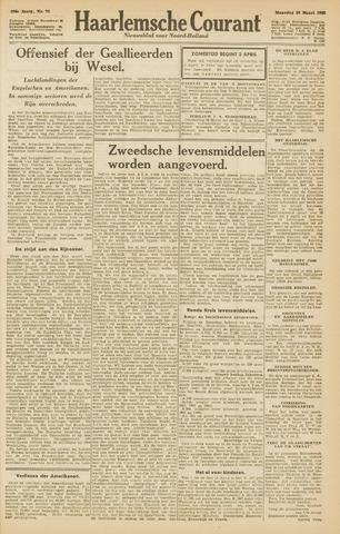 Haarlemsche Courant 1945-03-26