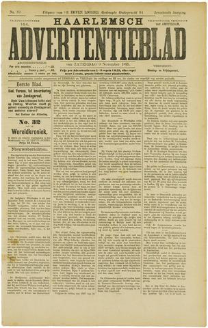 Haarlemsch Advertentieblad 1895-11-09