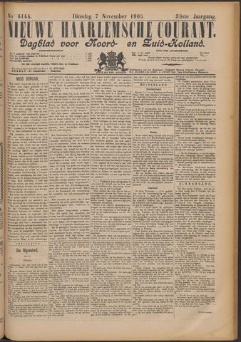 Nieuwe Haarlemsche Courant 1905-11-07