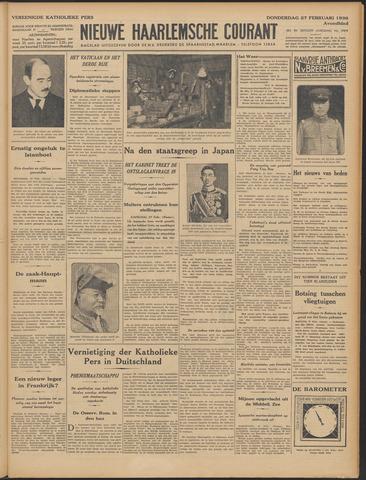 Nieuwe Haarlemsche Courant 1936-02-27