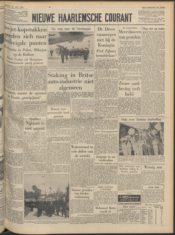 Nieuwe Haarlemsche Courant 1956-07-23