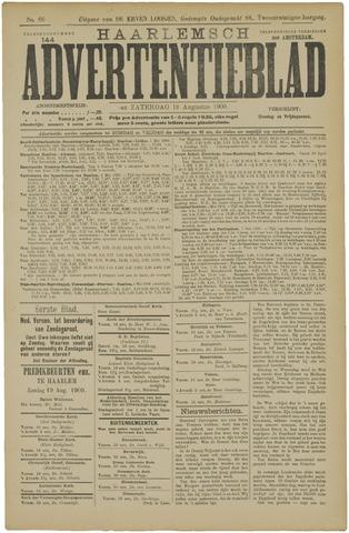 Haarlemsch Advertentieblad 1900-08-18