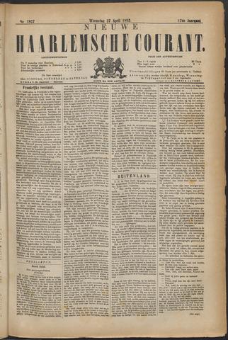 Nieuwe Haarlemsche Courant 1892-04-27