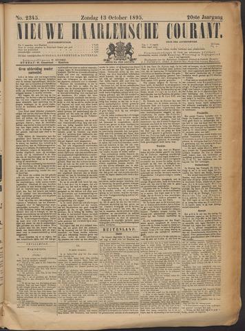 Nieuwe Haarlemsche Courant 1895-10-13
