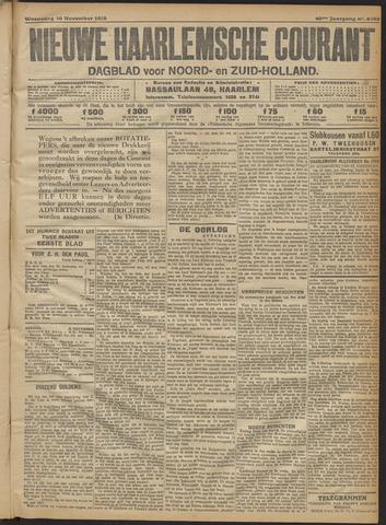 Nieuwe Haarlemsche Courant 1915-11-10