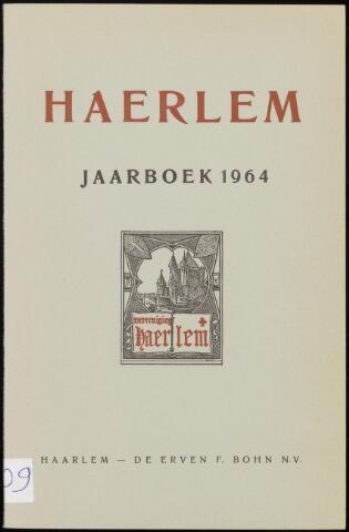 Jaarverslagen en Jaarboeken Vereniging Haerlem 1964