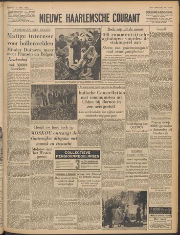 Nieuwe Haarlemsche Courant 1955-04-12