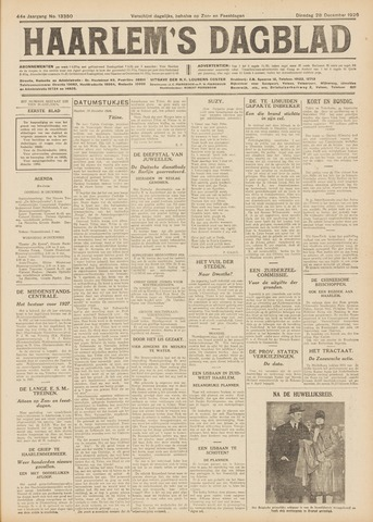 Haarlem's Dagblad 1926-12-28