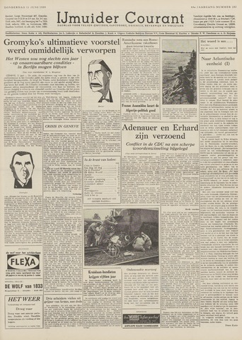 IJmuider Courant 1959-06-11