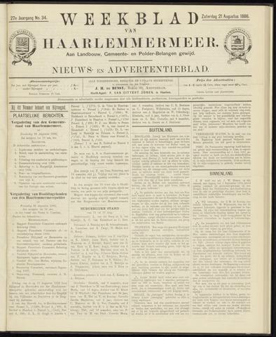 Weekblad van Haarlemmermeer 1886-08-21