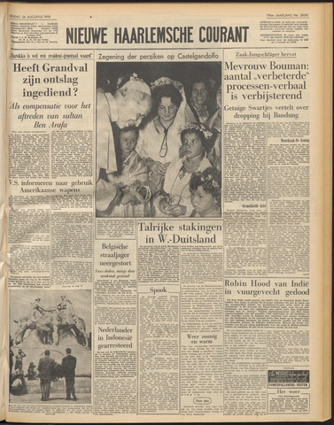 Nieuwe Haarlemsche Courant 1955-08-26