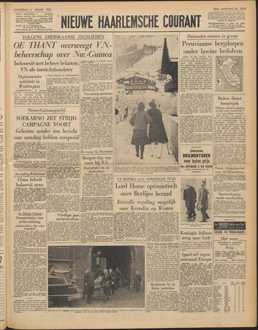 Nieuwe Haarlemsche Courant 1962-01-11