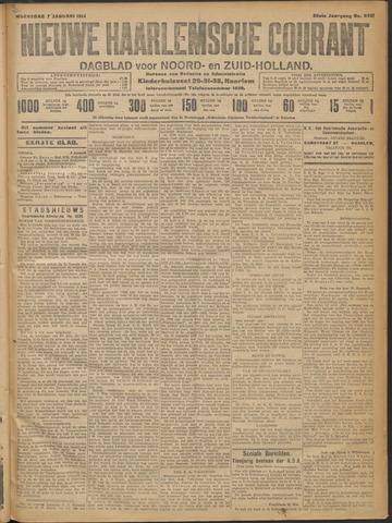 Nieuwe Haarlemsche Courant 1914-01-07