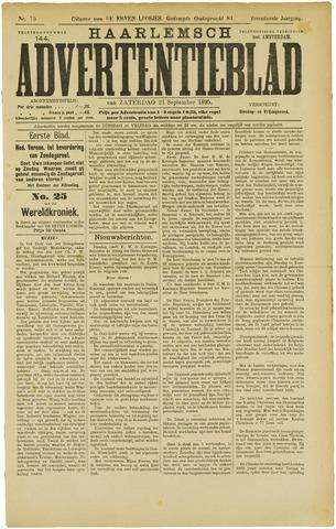 Haarlemsch Advertentieblad 1895-09-21
