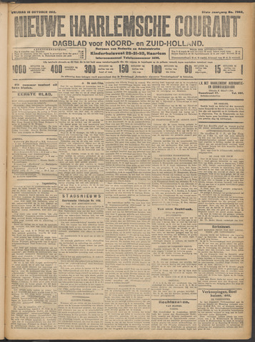 Nieuwe Haarlemsche Courant 1912-10-18