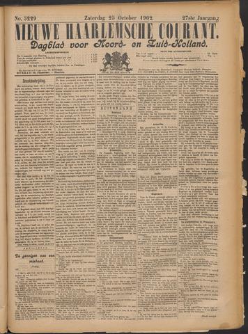 Nieuwe Haarlemsche Courant 1902-10-25