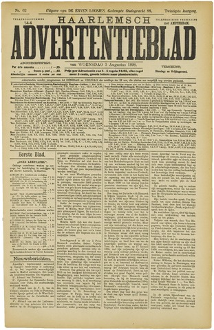 Haarlemsch Advertentieblad 1898-08-03