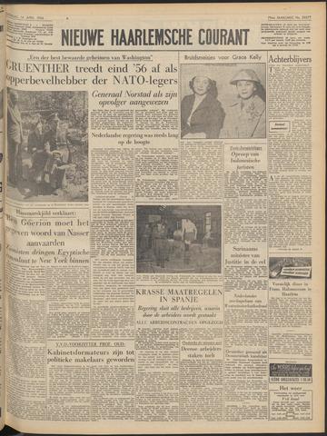 Nieuwe Haarlemsche Courant 1956-04-14