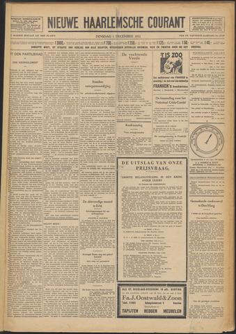 Nieuwe Haarlemsche Courant 1931-12-01
