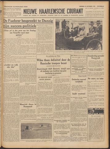 Nieuwe Haarlemsche Courant 1939-09-20
