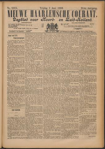 Nieuwe Haarlemsche Courant 1906-06-01
