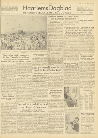 Haarlem's Dagblad 1954-08-05