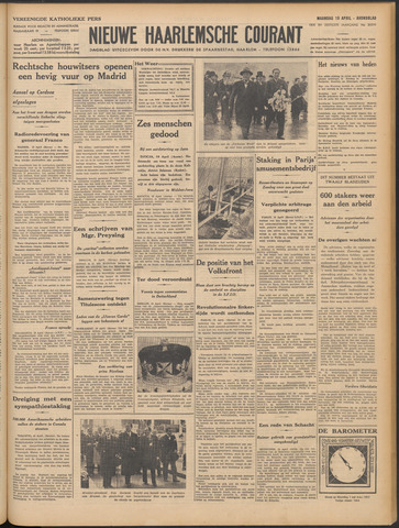 Nieuwe Haarlemsche Courant 1937-04-19