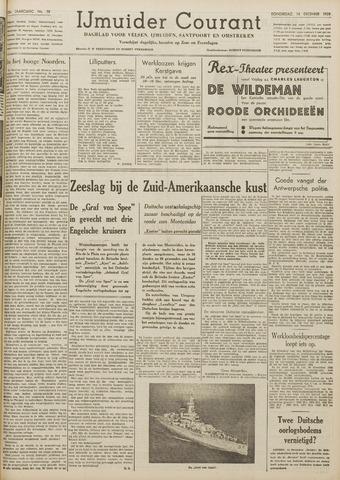 IJmuider Courant 1939-12-14