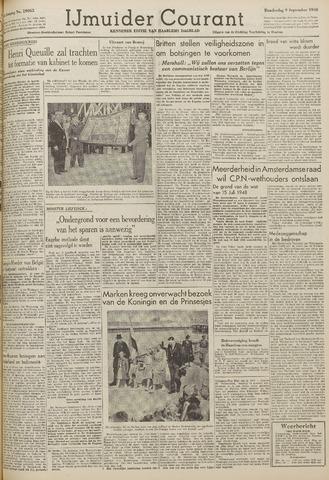 IJmuider Courant 1948-09-09