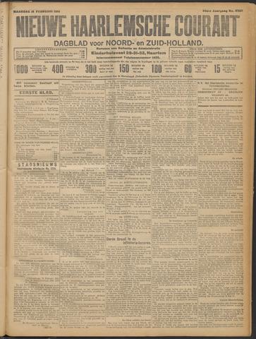 Nieuwe Haarlemsche Courant 1914-02-16