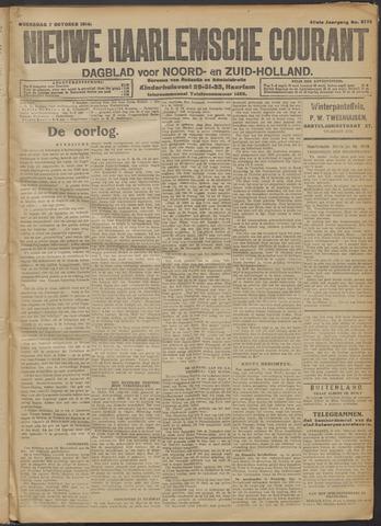 Nieuwe Haarlemsche Courant 1914-10-07