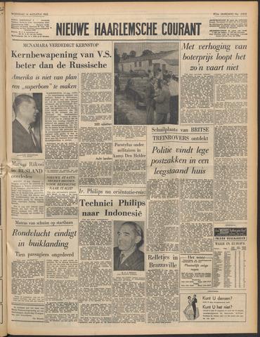 Nieuwe Haarlemsche Courant 1963-08-14