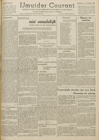 IJmuider Courant 1939-10-23