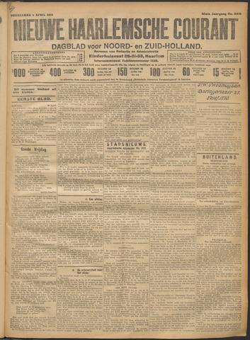 Nieuwe Haarlemsche Courant 1914-04-09