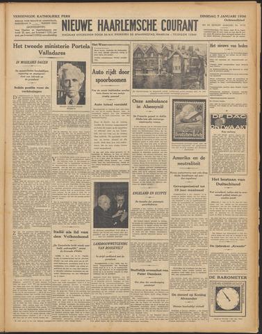 Nieuwe Haarlemsche Courant 1936-01-07