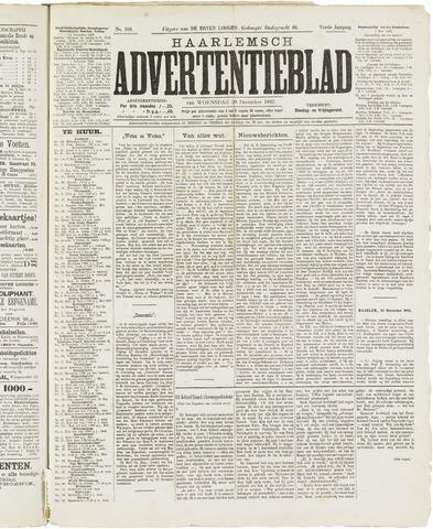 Haarlemsch Advertentieblad 1882-12-20