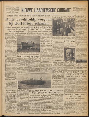 Nieuwe Haarlemsche Courant 1952