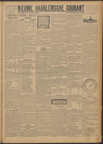 Nieuwe Haarlemsche Courant 1923-01-24