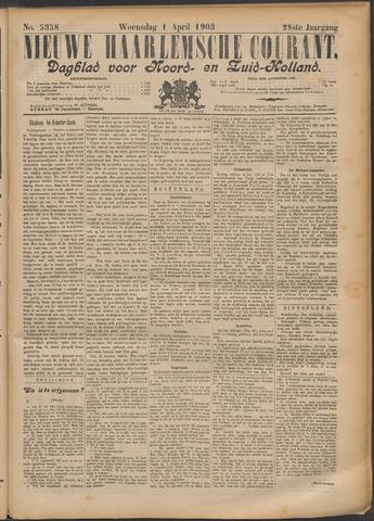 Nieuwe Haarlemsche Courant 1903-04-01